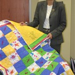 Prayer quilts illustrate concern of Calif. church